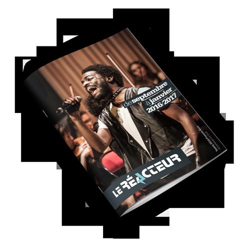 Visuel de la brochure de septembre 2016 à janvier 2017